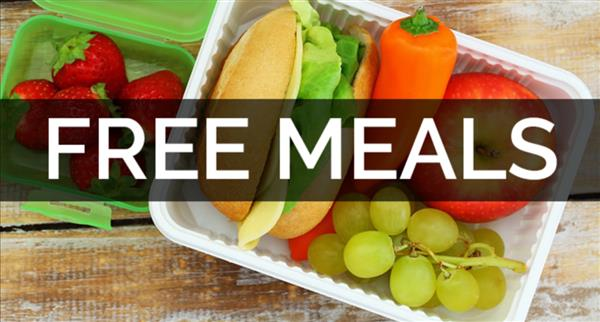 Free Meals Banner