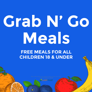 FREE MEALS! ANYONE 18 years old and under is eligible.