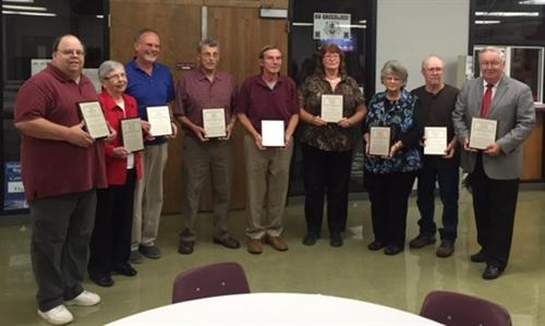 Wall of Distinction Inductees